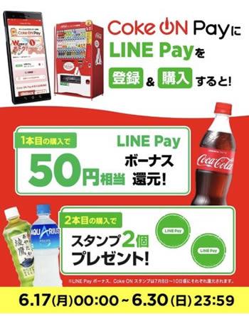 Coke ON Payキャンペーン